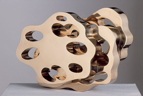 unter Linden, 2006, polierte Bronze, 20 x 29 x 9 cm