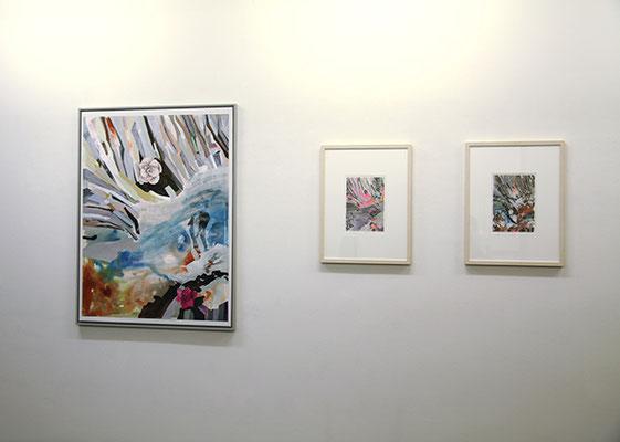Ausstellungsansicht  Galerie Ruth Sachse  2017
