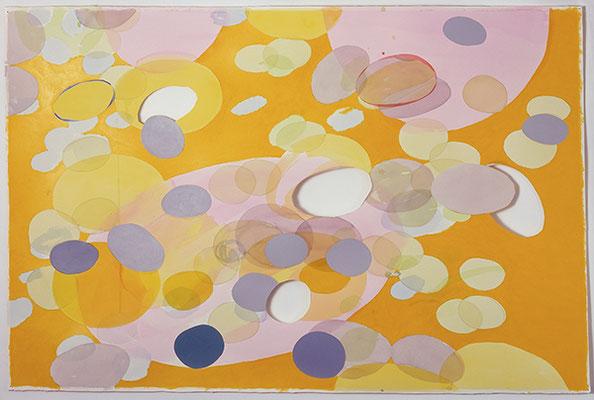 unter Linden Nr. 11, 2007, Mischtechnik auf Buetten, 120 x 180 cm