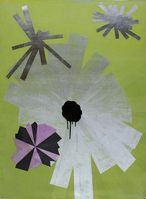 Guides 3, 2010, Mischtechnik auf Leinwnad, 115 x 85 cm