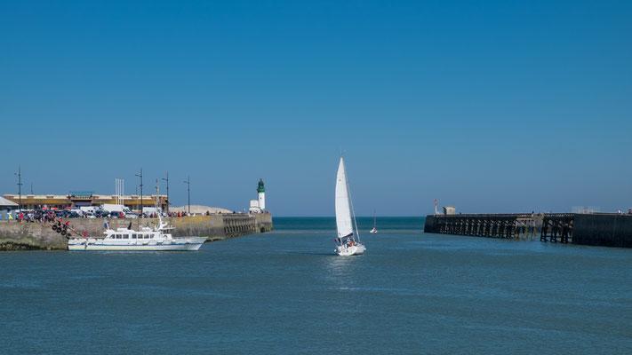 Hafen von Le Treport