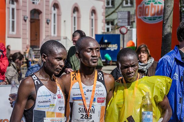 Die Sieger beim Sankt Wendel Marathon