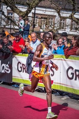 Der Sieger beim Sankt Wendel Marathon