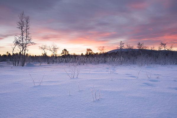 Eiseskälte, aufgenommen in Schweden.