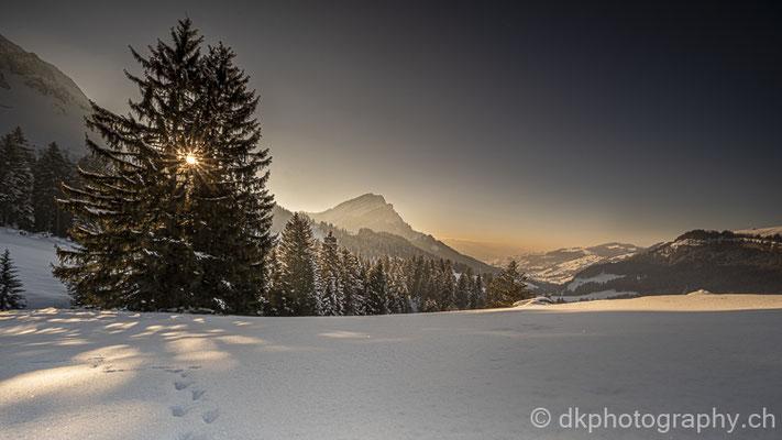 Sonnenuntergang im Alpstein 2 (Schweiz)