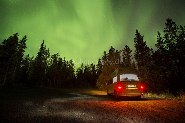Aurora borealis 2, Whitehorse Canada Bild-Nummer: 45