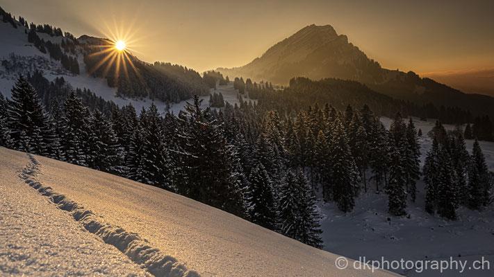 Sonnenuntergang im Alpstein 1 (Schweiz)