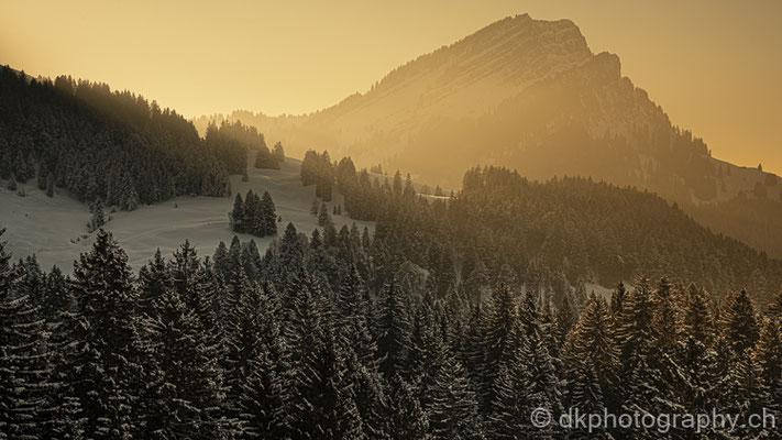 Sonnenuntergang im Alpstein 3 (Schweiz)