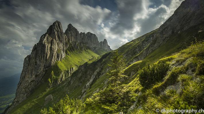 Chrüzbärge 1, aufgenommen im Alpstein (CH)