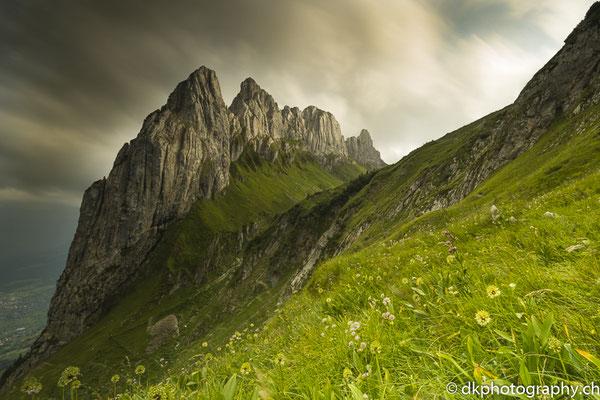 Chrüzbärge 2, aufgenommen im Alpstein (CH)