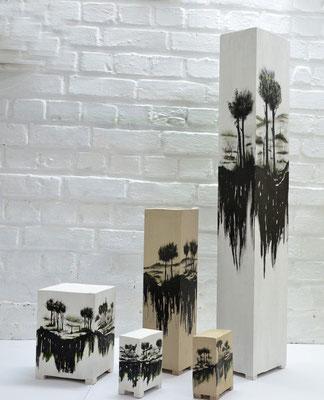 2021 Tusche azf Holz