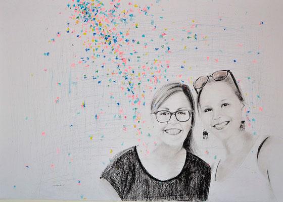 2017 | 100 x 70 | Pastell | Pencil | Bild 5