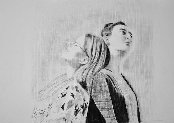 2017 | 70 x 50 | Pencil | Pastell | Bild 3