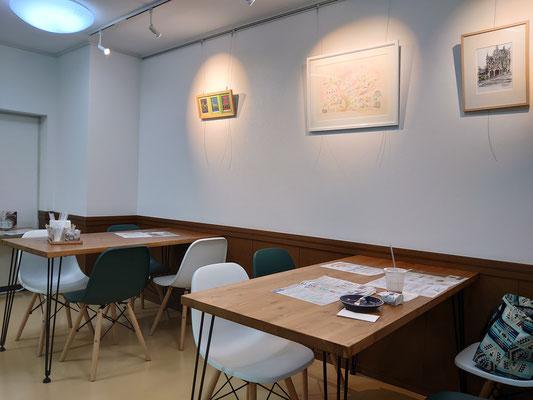 デイサービスに併設された、地域開放型カフェ