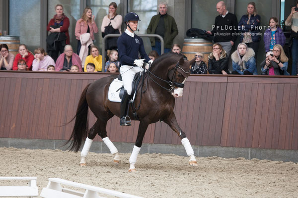 105. Blue Hors Don Olymbrio - Reiter Daniel Bachmann Andersen
