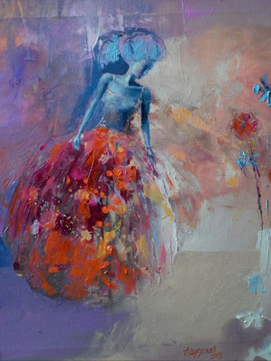 JEALOUSY, 2013, oil on canvas