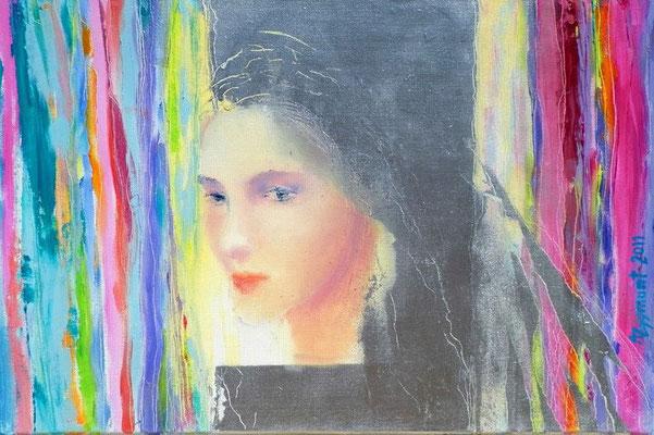 Raimbow, 2012, Oil canvas