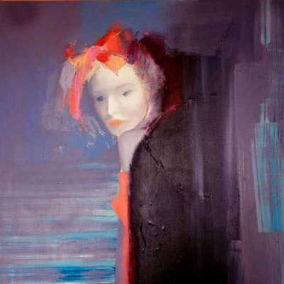 Mysterious Woman2, 2012. Oil canvas