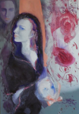 Four Confused Woman, 2011. oil canvas