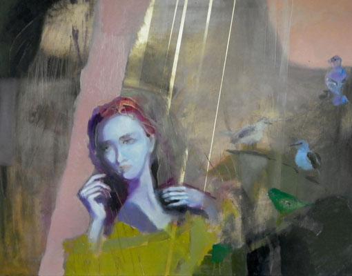 Nostalgy, 2012. Oil canvas