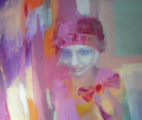 For Anna, 2012. Oil canvas