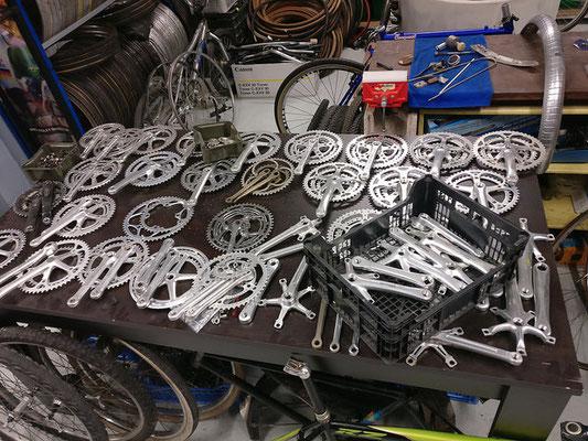 accessoires pour vélo vintage