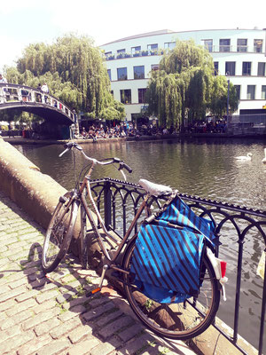 Camden market vintage vélo londres