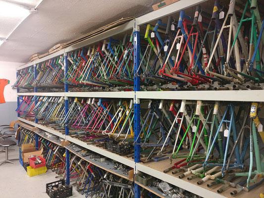cadre de vélo vintage pour fixi