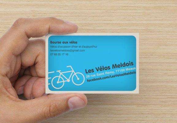 carte de visite les vélos meldois