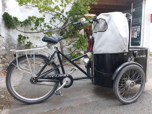 Cargo bike vélo cargos à louer