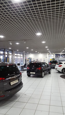 LED Downlights - Car Dealer