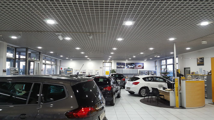 LED Downlights - Car Dealer