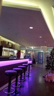 LED RGB Lights - Fitness Center