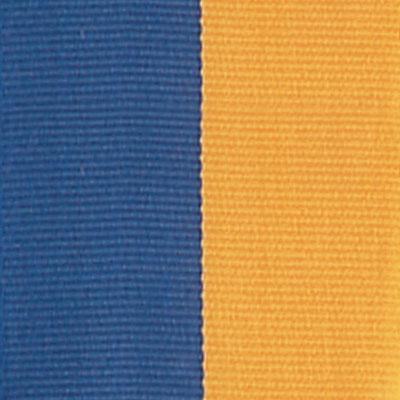 Blue & Gold Neck Ribbon