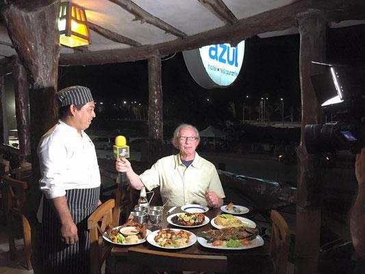 GEM, viajando con Robert, estuvo de visita en nuestro restaurante