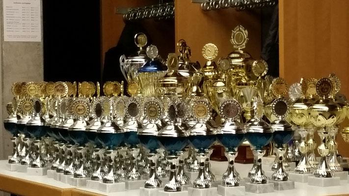 Siegerpokale 2017