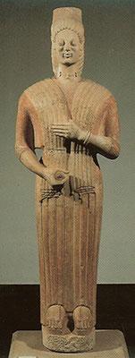 Berliner Göttin • um 580 v. Chr. • Berlin • Altes Museum