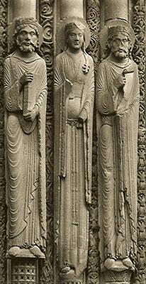 Säulenfiguren • um 1140 • Chartres
