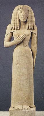 Dame d' Auxerre • 7. Jht v. Chr. •  Louvre