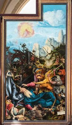 Grünewald - Die Versuchung des Heiligen Antonius.  Isenheimer Altar, Colmar.