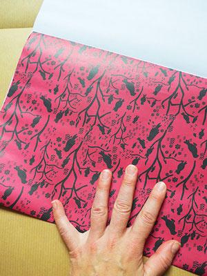 trick papier falten, kathrins papier