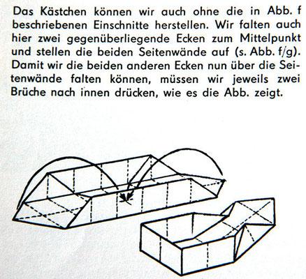 Quelle: Wir falten und falzen von Joachim Schöherr, Illustration: Hans Greschek