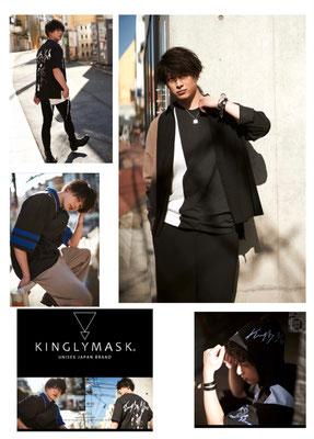 KINGLYMASK 2021 Summer Collection LookBook  (model)砂川脩弥  ヘアメイク高野雄一