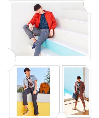 TED BAKER LONDON Nagoya Pop Up Syoreカタログ modelハリー杉山 ヘアメイク高野雄一