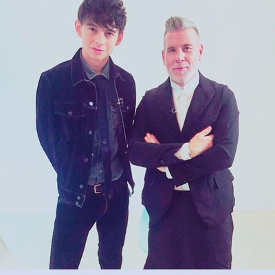 ANSWERS by fashion tv ハリー杉山、Nic Wooster(ニック・ウースター) ヘアメイク高野雄一