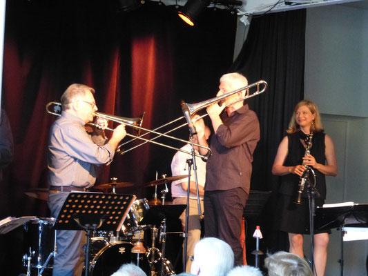Alfred und Uli ....trombone battle