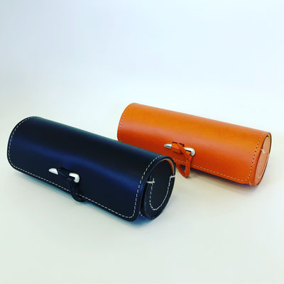 Leather Case/L (Black・Orange) 8,000YEN+tax