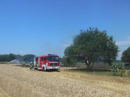 Brandeinsatz FF Goritz bei Radkersburg