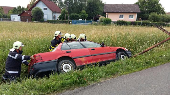 Verkehrsunfall FF Goritz bei Radkersburg