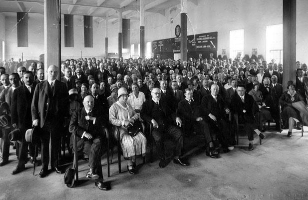 Generalversammlung der GöC 1930 mit Dr. Karl Renner